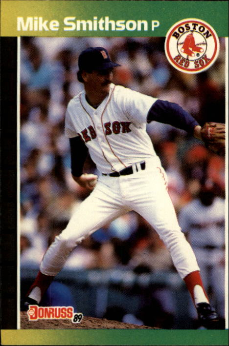 1989 Donruss #628 Mike Smithson DP
