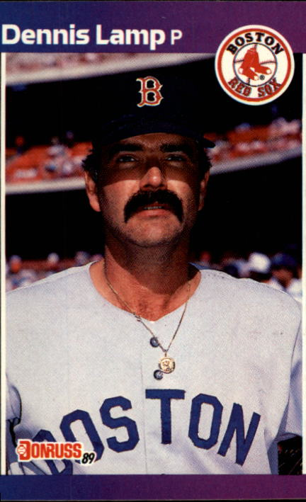 1989 Donruss #633 Dennis Lamp