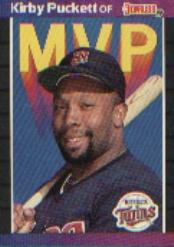1989 Donruss Bonus MVP's #BC1 Kirby Puckett