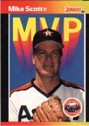 1989 Donruss Bonus MVP's #BC2 Mike Scott