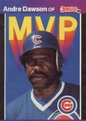 1989 Donruss Bonus MVP's #BC8 Andre Dawson
