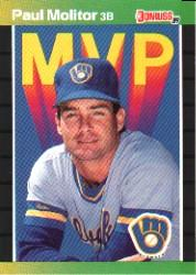 1989 Donruss Bonus MVP's #BC9 Paul Molitor