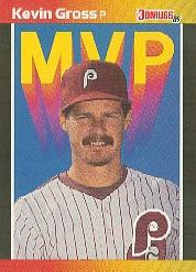 1989 Donruss Bonus MVP's #BC12 Kevin Gross