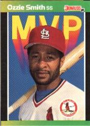 1989 Donruss Bonus MVP's #BC14 Ozzie Smith