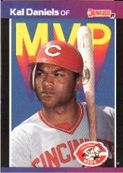 1989 Donruss Bonus MVP's #BC18 Kal Daniels
