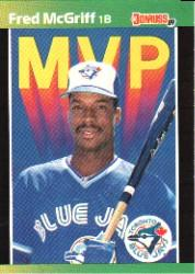 1989 Donruss Bonus MVP's #BC19 Fred McGriff