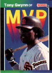 1989 Donruss Bonus MVP's #BC20 Tony Gwynn