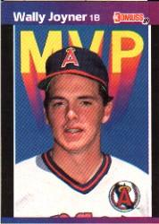 1989 Donruss Bonus MVP's #BC21 Wally Joyner DP