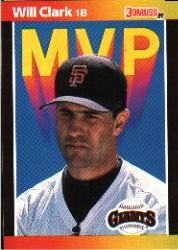 1989 Donruss Bonus MVP's #BC22 Will Clark DP