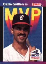 1989 Donruss Bonus MVP's #BC23 Ozzie Guillen