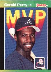 1989 Donruss Bonus MVP's #BC24 Gerald Perry DP