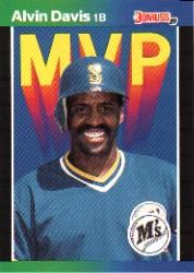 1989 Donruss Bonus MVP's #BC25 Alvin Davis DP