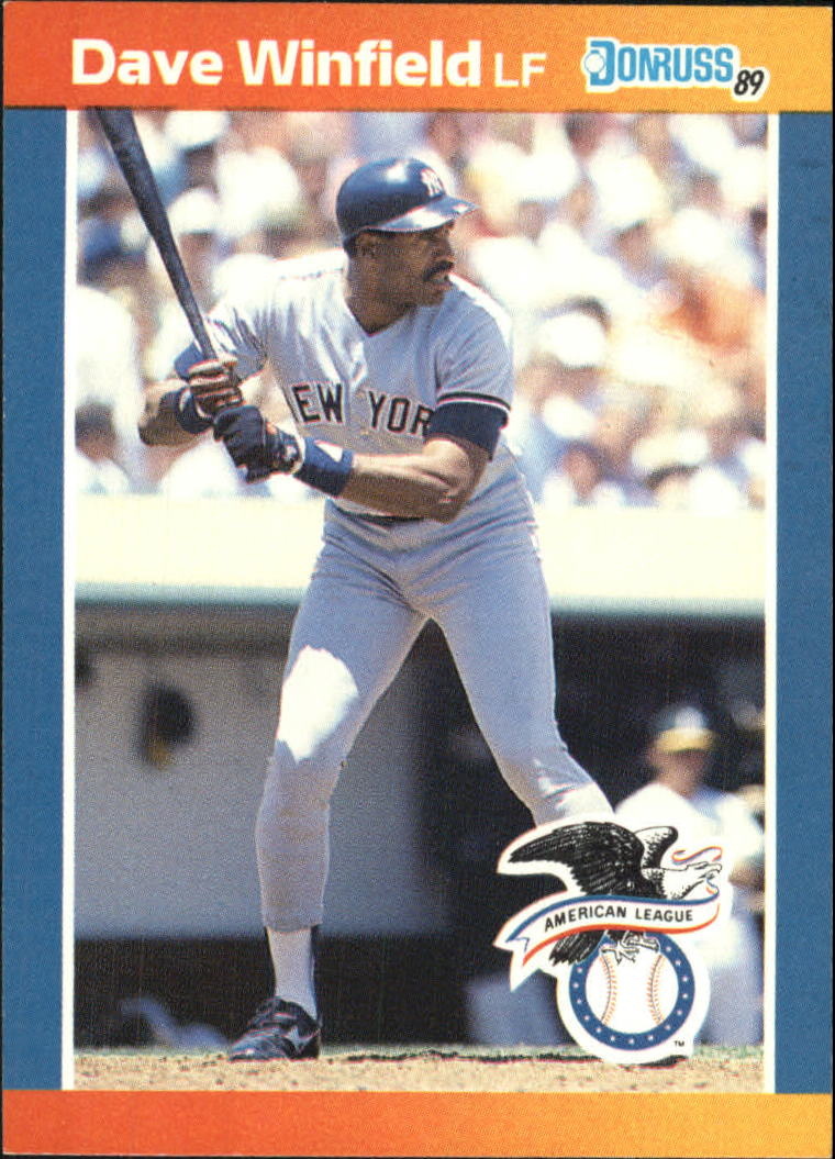 1989 Donruss All-Stars #6 Dave Winfield