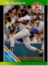 1989 Donruss Grand Slammers #12 Ellis Burks