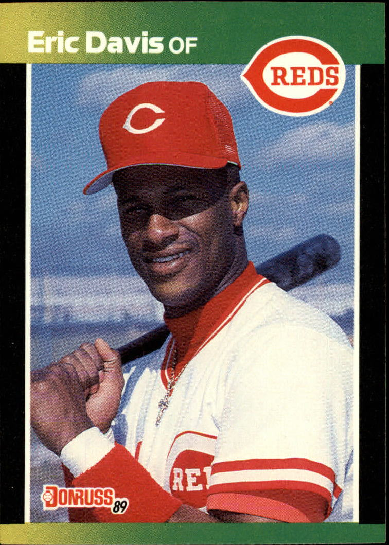1989 Donruss Baseball's Best #6 Eric Davis