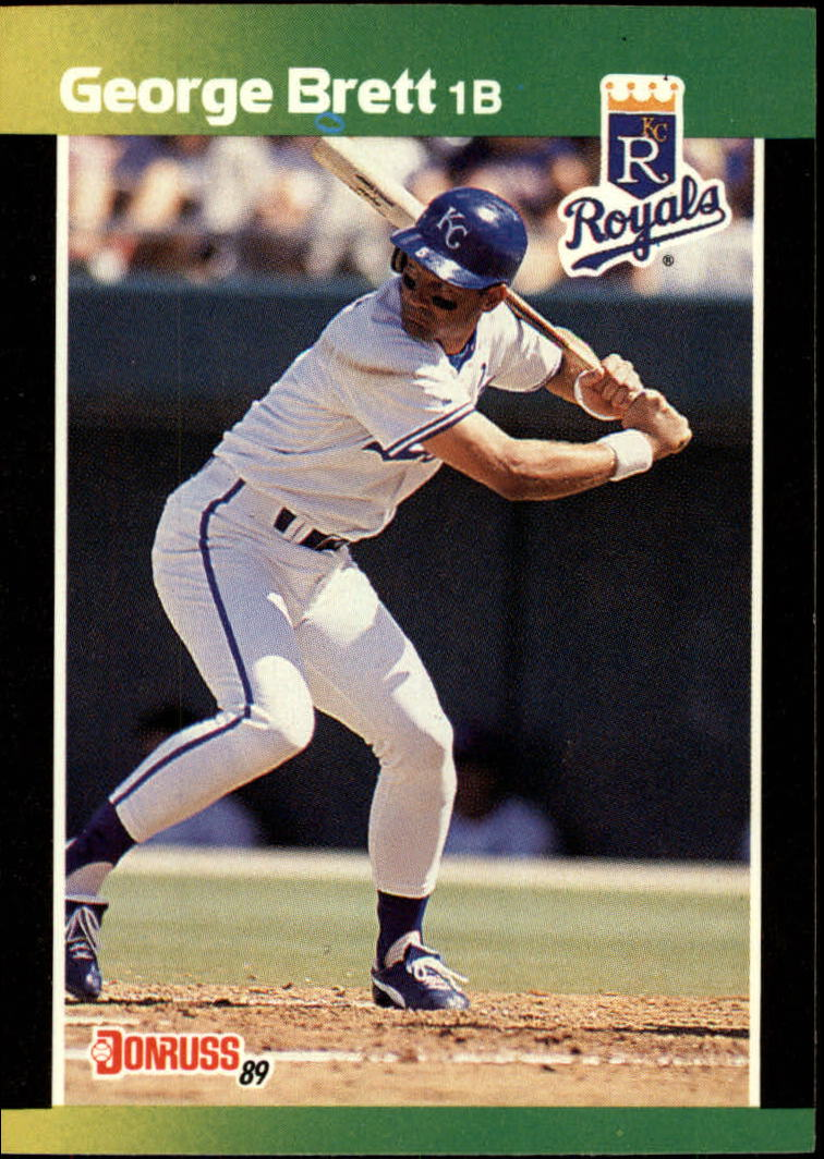 1989 Donruss Baseball's Best #7 George Brett