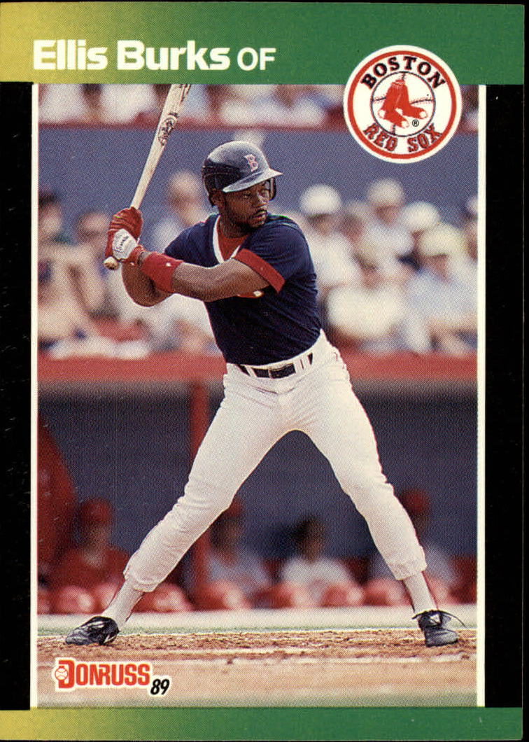 1989 Donruss Baseball's Best #9 Ellis Burks