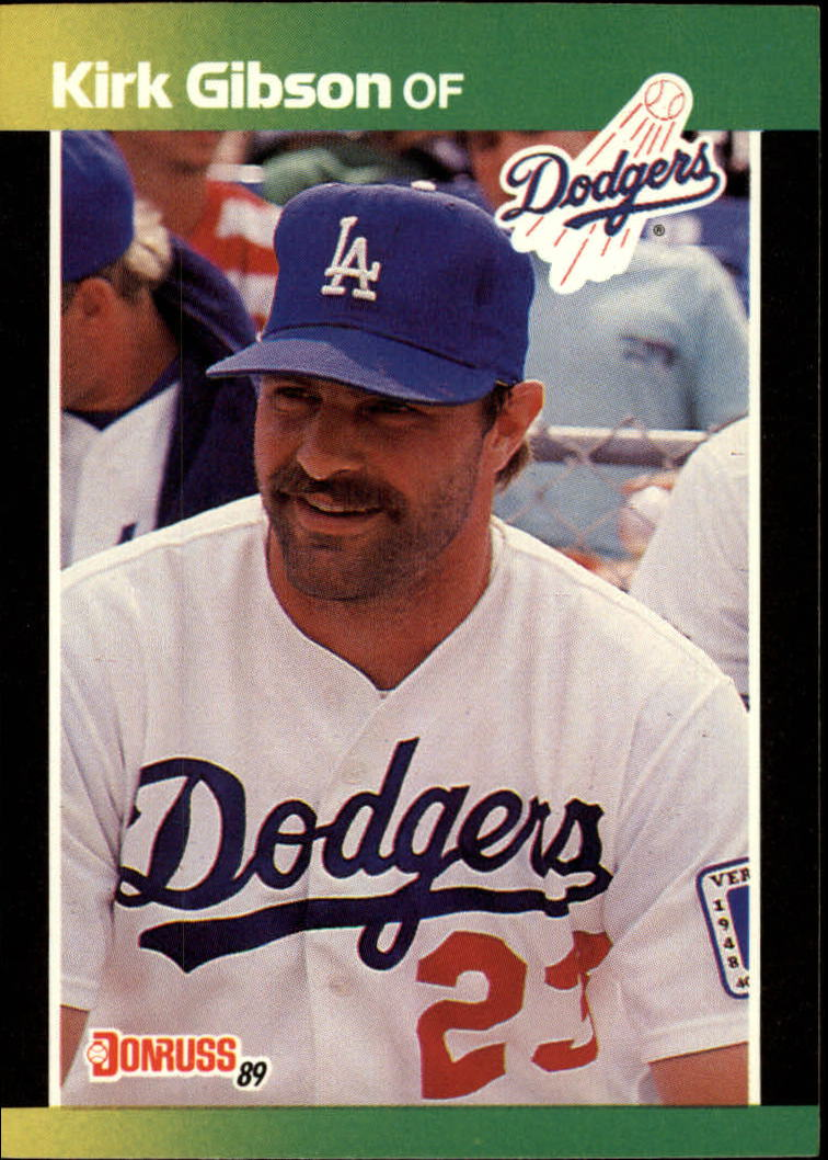 1989 Donruss Baseball's Best #10 Kirk Gibson