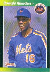1989 Donruss Baseball's Best #14 Dwight Gooden