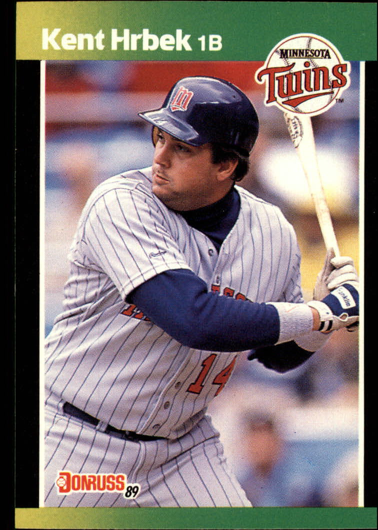 1989 Donruss Baseball's Best #18 Kent Hrbek