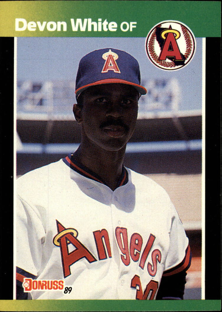 1989 Donruss Baseball's Best #27 Devon White