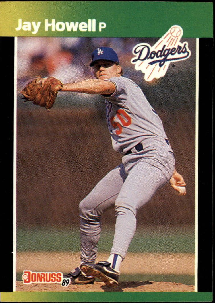 1989 Donruss Baseball's Best #36 Jay Howell