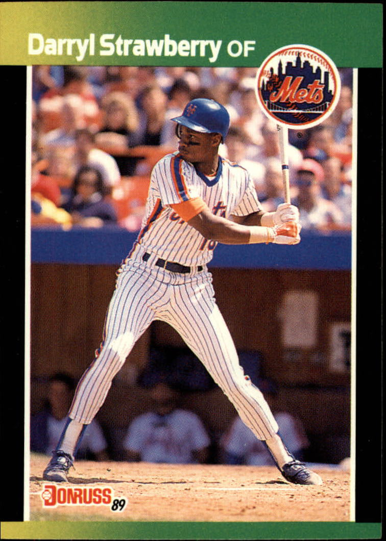 1989 Donruss Baseball's Best #40 Darryl Strawberry