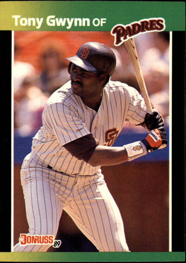 1989 Donruss Baseball's Best #42 Tony Gwynn front image