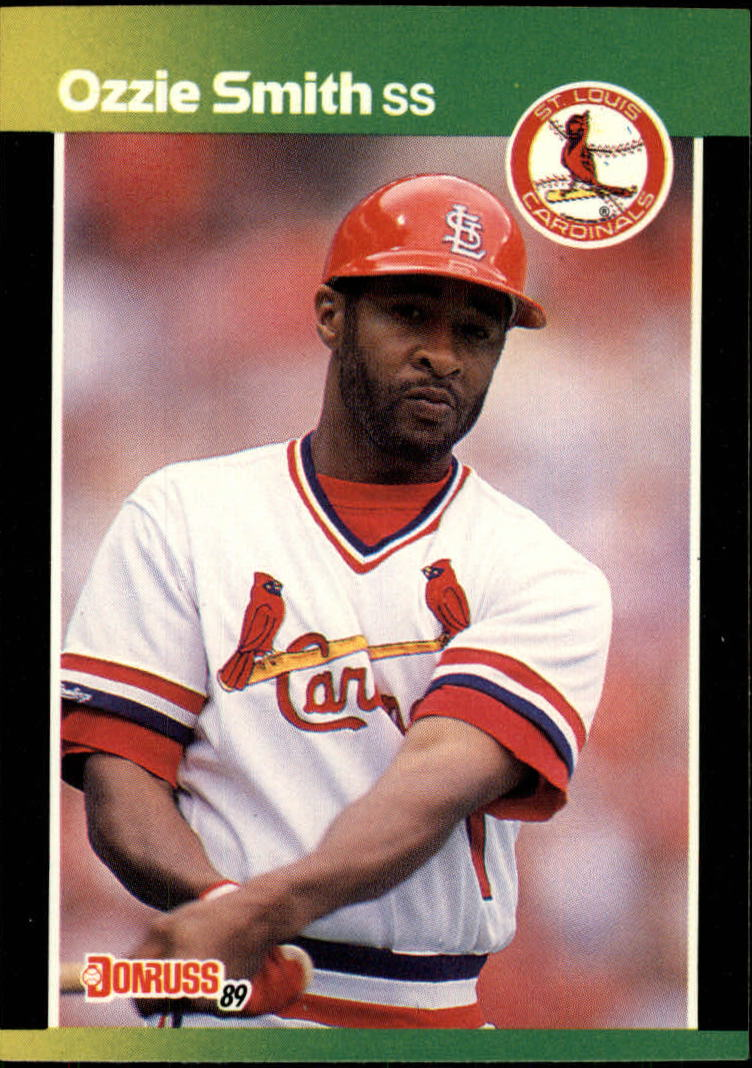 1989 Donruss Baseball's Best #44 Ozzie Smith