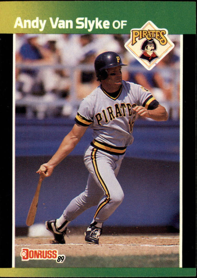 1989 Donruss Baseball's Best #45 Andy Van Slyke
