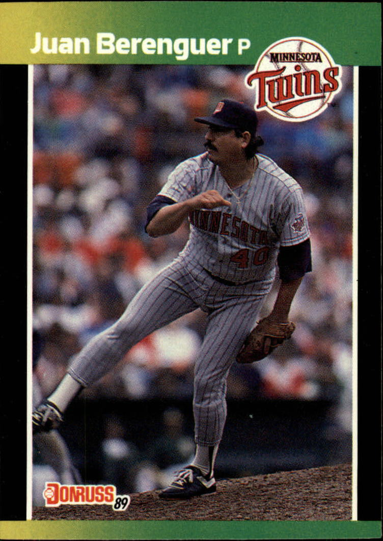 1989 Donruss Baseball's Best #46 Juan Berenguer
