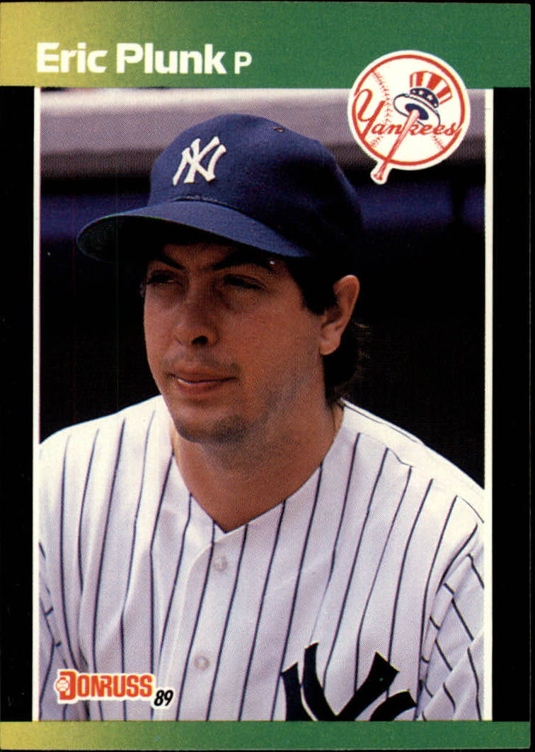 1989 Donruss Baseball's Best #49 Eric Plunk