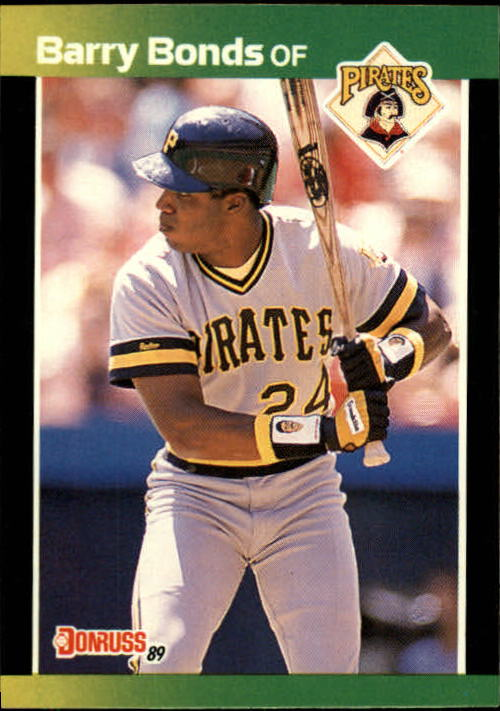 1989 Donruss Baseball's Best #73 Barry Bonds front image