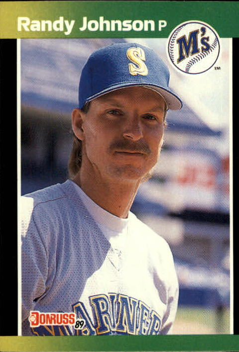 1989 Donruss Baseball's Best #80 Randy Johnson front image