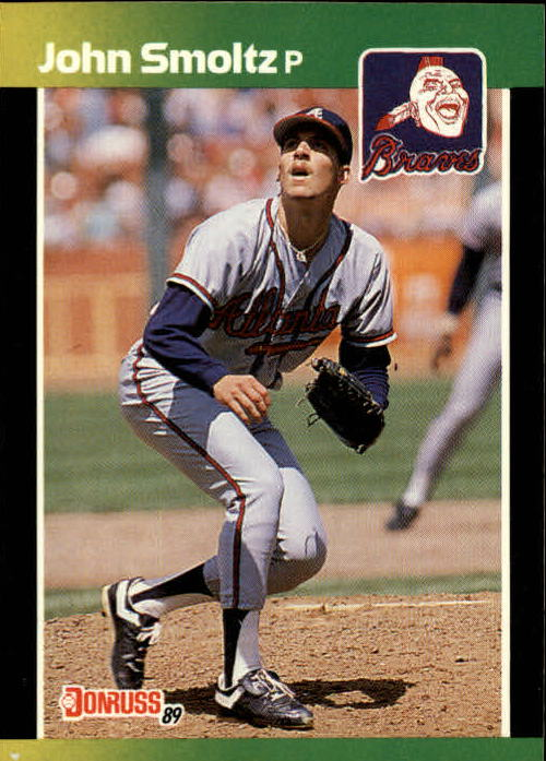 1989 Donruss Baseball's Best #85 John Smoltz