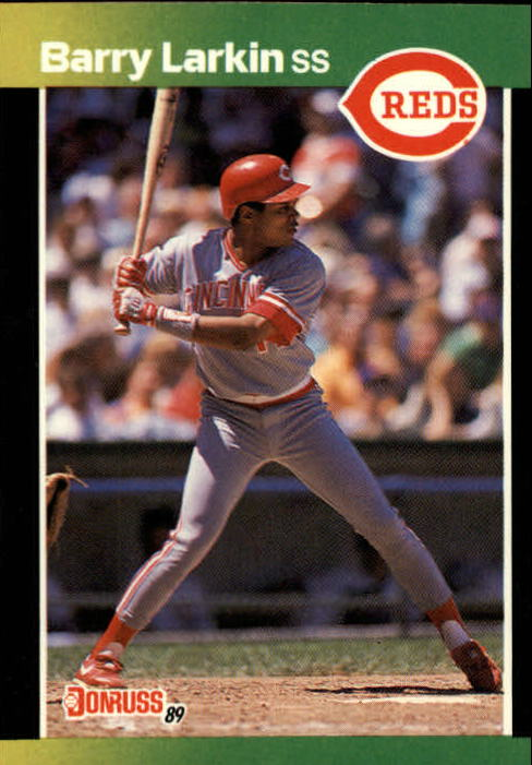 1989 Donruss Baseball's Best #110 Barry Larkin
