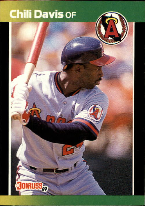 1989 Donruss Baseball's Best #115 Chili Davis