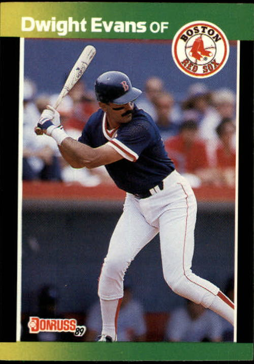 1989 Donruss Baseball's Best #121 Dwight Evans