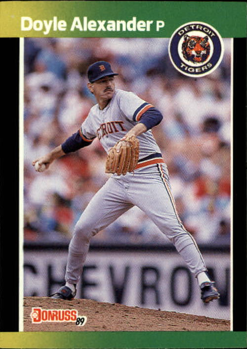 1989 Donruss Baseball's Best #125 Doyle Alexander