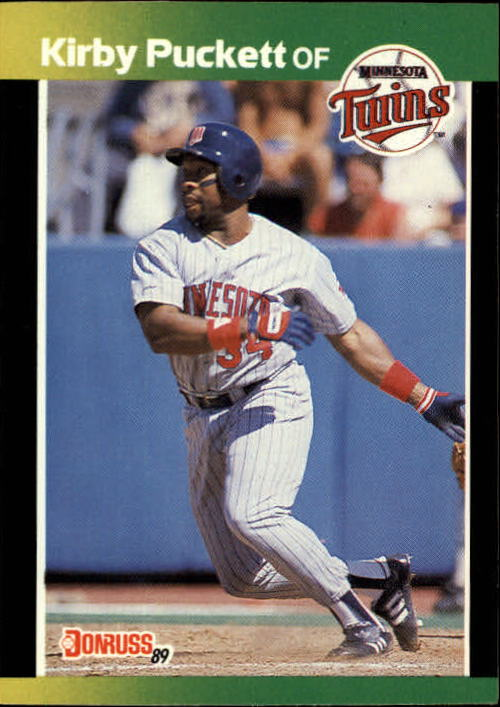 1989 Donruss Baseball's Best #130 Kirby Puckett