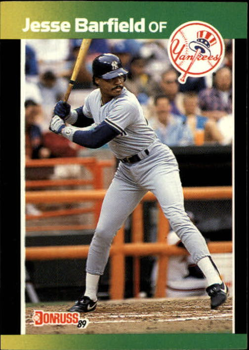 1989 Donruss Baseball's Best #132 Jesse Barfield