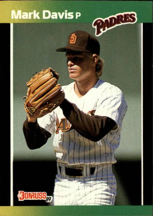 1989 Donruss Baseball's Best #133 Mark Davis UER/(Photo actually/Dave Leiper)