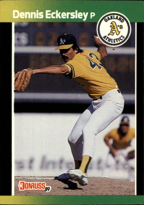 1989 Donruss Baseball's Best #134 Dennis Eckersley