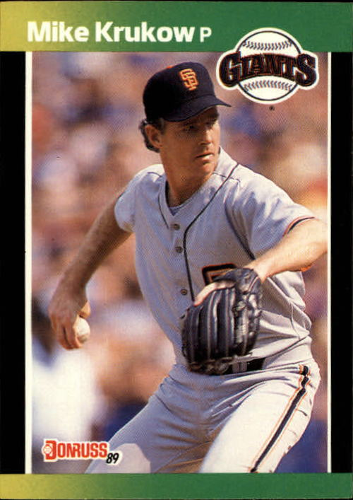 1989 Donruss Baseball's Best #135 Mike Krukow