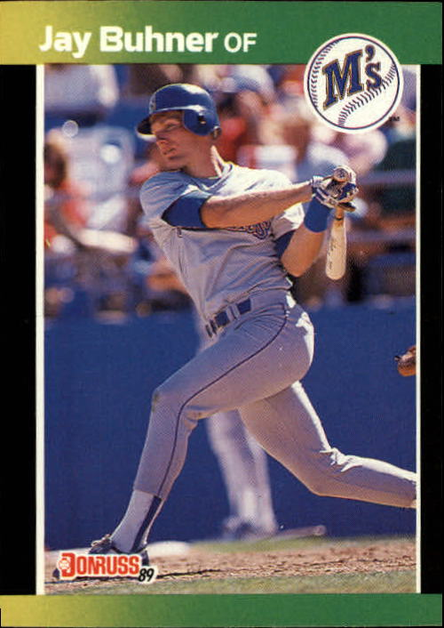 1989 Donruss Baseball's Best #136 Jay Buhner
