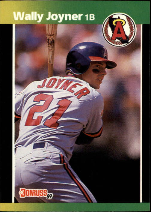 1989 Donruss Baseball's Best #139 Wally Joyner