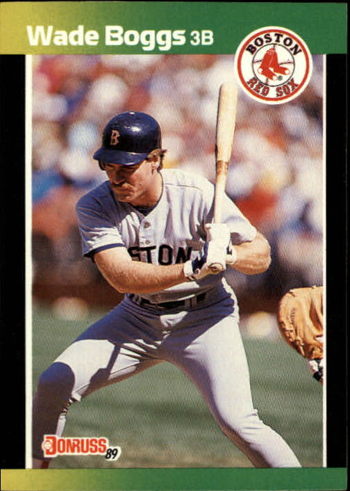 1989 Donruss Baseball's Best #140 Wade Boggs