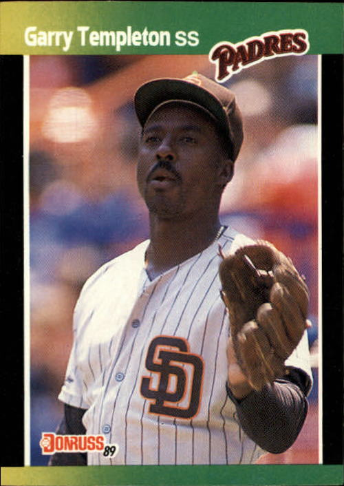 1989 Donruss Baseball's Best #154 Garry Templeton