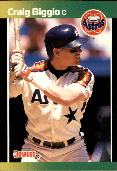 1989 Donruss Baseball's Best #176 Craig Biggio