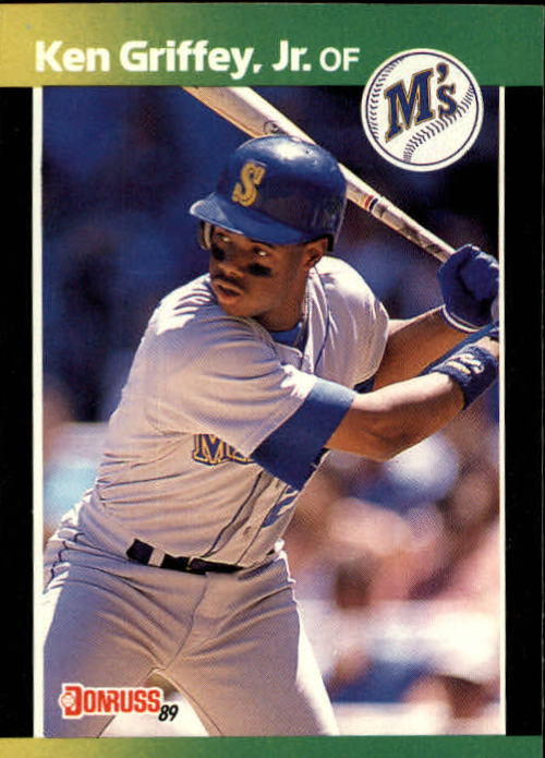 1989 Donruss Baseball's Best #192 Ken Griffey Jr.